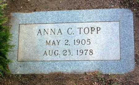 TOPP, ANNA CECILIA - Yavapai County, Arizona | ANNA CECILIA TOPP - Arizona Gravestone Photos
