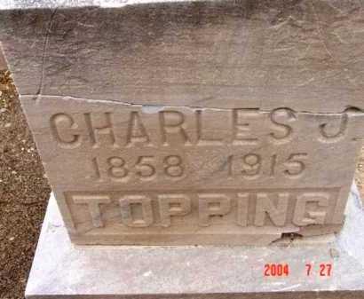 TOPPING, CHARLES JARED - Yavapai County, Arizona   CHARLES JARED TOPPING - Arizona Gravestone Photos