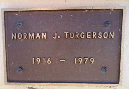 TORGERSON, NORMAN JUSTON - Yavapai County, Arizona | NORMAN JUSTON TORGERSON - Arizona Gravestone Photos