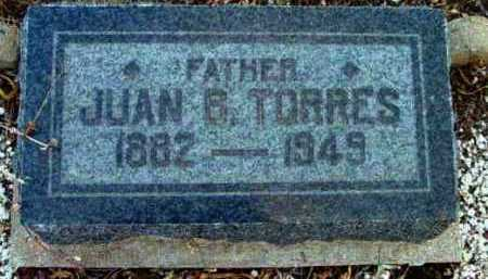 TORRES, JUAN B. - Yavapai County, Arizona   JUAN B. TORRES - Arizona Gravestone Photos