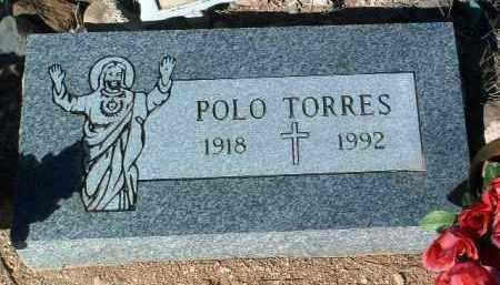 TORRES, POLO - Yavapai County, Arizona   POLO TORRES - Arizona Gravestone Photos