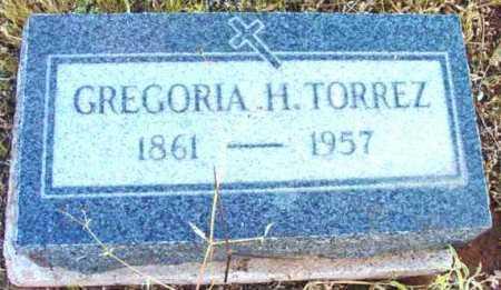 TORREZ, GREGORIA H. - Yavapai County, Arizona | GREGORIA H. TORREZ - Arizona Gravestone Photos