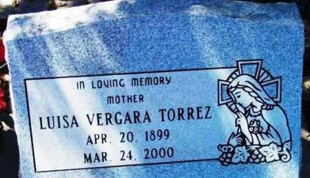 VERGARA TORREZ, LUISA - Yavapai County, Arizona | LUISA VERGARA TORREZ - Arizona Gravestone Photos