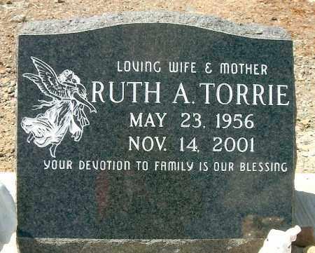 TORRIE, RUTH A. - Yavapai County, Arizona   RUTH A. TORRIE - Arizona Gravestone Photos