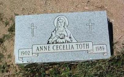 TOTH, ANN CECELIA - Yavapai County, Arizona | ANN CECELIA TOTH - Arizona Gravestone Photos