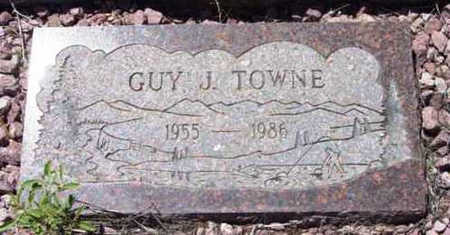 TOWNE, GUY JOHN - Yavapai County, Arizona | GUY JOHN TOWNE - Arizona Gravestone Photos