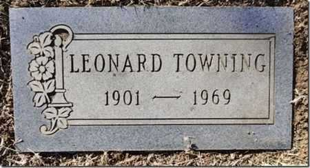 TOWNING, LEONARD - Yavapai County, Arizona | LEONARD TOWNING - Arizona Gravestone Photos