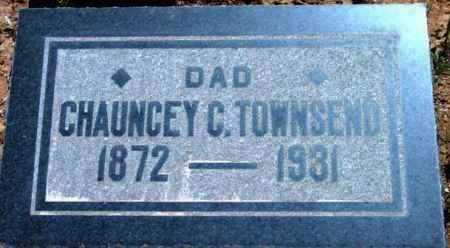 TOWNSEND, CHAUNCEY CLARENCE - Yavapai County, Arizona | CHAUNCEY CLARENCE TOWNSEND - Arizona Gravestone Photos