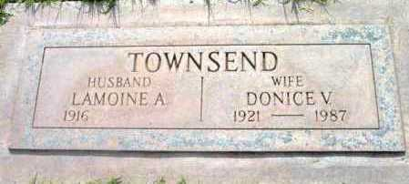 TOWNSEND, LAMOINE A. - Yavapai County, Arizona | LAMOINE A. TOWNSEND - Arizona Gravestone Photos