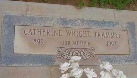 TRAMMEL, CATHERINE - Yavapai County, Arizona | CATHERINE TRAMMEL - Arizona Gravestone Photos