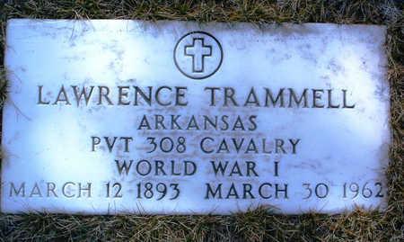 TRAMMELL, LAWRENCE - Yavapai County, Arizona | LAWRENCE TRAMMELL - Arizona Gravestone Photos