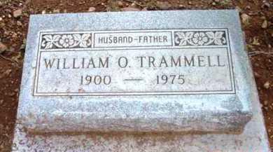 TRAMMELL, WILLIAM ORVILLE - Yavapai County, Arizona | WILLIAM ORVILLE TRAMMELL - Arizona Gravestone Photos