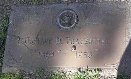TRAUZETTEL, GUSTAVE OTTO - Yavapai County, Arizona | GUSTAVE OTTO TRAUZETTEL - Arizona Gravestone Photos