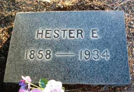 TRAVIS, HESTER E. - Yavapai County, Arizona | HESTER E. TRAVIS - Arizona Gravestone Photos