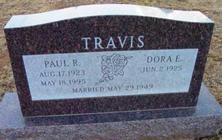 TRAVIS, DORA ELIZABETH - Yavapai County, Arizona | DORA ELIZABETH TRAVIS - Arizona Gravestone Photos