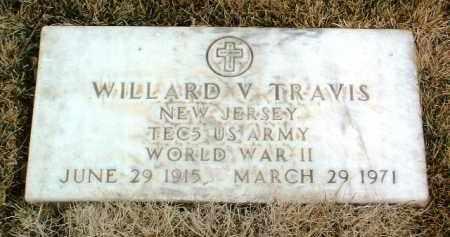 TRAVIS, WILLARD V. - Yavapai County, Arizona | WILLARD V. TRAVIS - Arizona Gravestone Photos