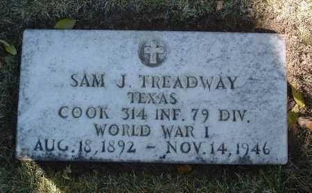 TREADWAY, SAM J. - Yavapai County, Arizona | SAM J. TREADWAY - Arizona Gravestone Photos