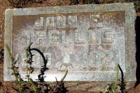 TRELLUE, JOHN F. - Yavapai County, Arizona | JOHN F. TRELLUE - Arizona Gravestone Photos