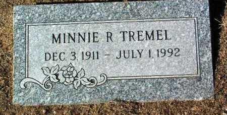 TREMEL, MINNIE R. - Yavapai County, Arizona | MINNIE R. TREMEL - Arizona Gravestone Photos