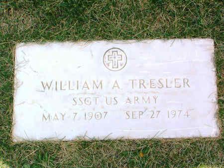 TRESLER, WILLIAM ALFRED - Yavapai County, Arizona | WILLIAM ALFRED TRESLER - Arizona Gravestone Photos