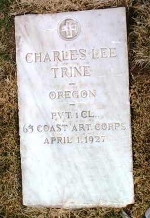 TRINE, CHARLES LEE / LEO - Yavapai County, Arizona | CHARLES LEE / LEO TRINE - Arizona Gravestone Photos