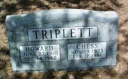 TRIPLETT, CECILIA E. (CHESS) - Yavapai County, Arizona   CECILIA E. (CHESS) TRIPLETT - Arizona Gravestone Photos