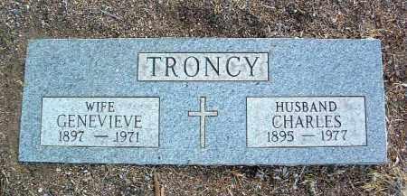 TRONCY, CHARLES - Yavapai County, Arizona | CHARLES TRONCY - Arizona Gravestone Photos