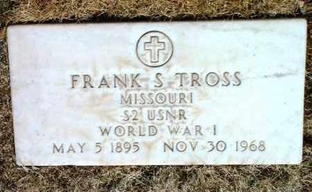 TROSS, FRANK S. - Yavapai County, Arizona | FRANK S. TROSS - Arizona Gravestone Photos