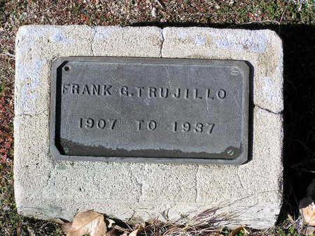 TRUJILLO, FRANK G. - Yavapai County, Arizona | FRANK G. TRUJILLO - Arizona Gravestone Photos