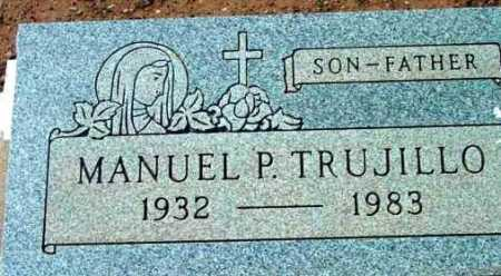TRUJILLO, MANUEL P. - Yavapai County, Arizona   MANUEL P. TRUJILLO - Arizona Gravestone Photos