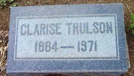TRULSON, CLARISE - Yavapai County, Arizona   CLARISE TRULSON - Arizona Gravestone Photos