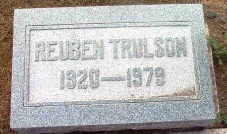 TRULSON, REUBEN - Yavapai County, Arizona | REUBEN TRULSON - Arizona Gravestone Photos