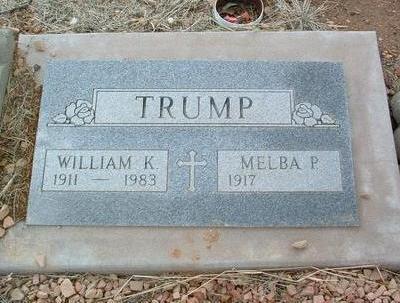 TRUMP, MELBA PAULINE - Yavapai County, Arizona | MELBA PAULINE TRUMP - Arizona Gravestone Photos