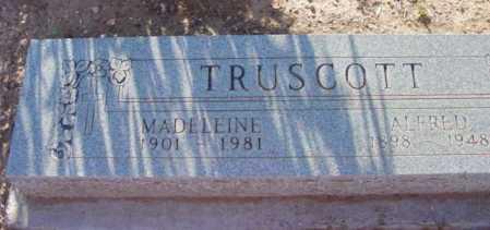 TRUSCOTT, ALFRED EDWARD - Yavapai County, Arizona | ALFRED EDWARD TRUSCOTT - Arizona Gravestone Photos