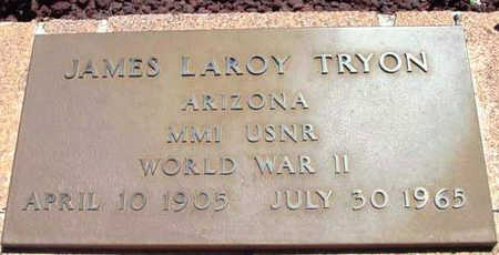 TRYON, JAMES LAROY - Yavapai County, Arizona   JAMES LAROY TRYON - Arizona Gravestone Photos