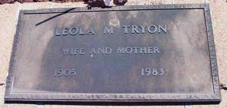 TRYON, LEOLA M. - Yavapai County, Arizona | LEOLA M. TRYON - Arizona Gravestone Photos