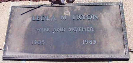 TRYON, LEOLA M. - Yavapai County, Arizona | LEOLA M. TRYON - Arizona Gravestone Photos