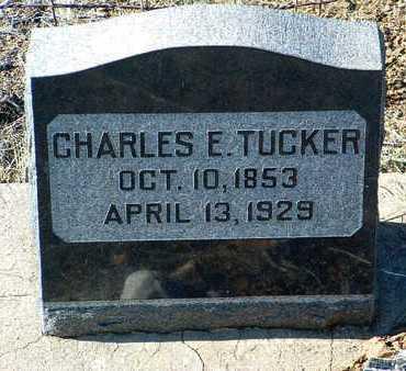 TUCKER, CHARLES EVANS - Yavapai County, Arizona | CHARLES EVANS TUCKER - Arizona Gravestone Photos