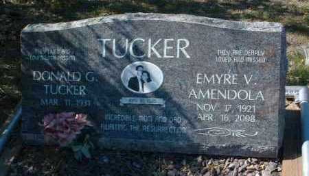 AMENDOLA TUCKER, EMYRE - Yavapai County, Arizona | EMYRE AMENDOLA TUCKER - Arizona Gravestone Photos