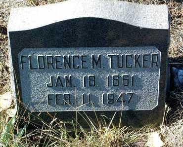 BARNES TUCKER, FLORENCE - Yavapai County, Arizona | FLORENCE BARNES TUCKER - Arizona Gravestone Photos