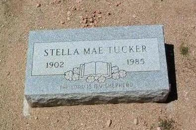 MAPLES TUCKER, STELLA MAE - Yavapai County, Arizona | STELLA MAE MAPLES TUCKER - Arizona Gravestone Photos