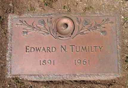 TUMILTY, EDWARD NEWTON - Yavapai County, Arizona   EDWARD NEWTON TUMILTY - Arizona Gravestone Photos