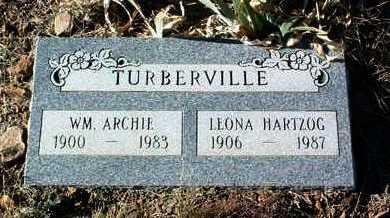 TURBERVILLE, LEONA - Yavapai County, Arizona | LEONA TURBERVILLE - Arizona Gravestone Photos