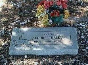 TURLEY, CLAUDE - Yavapai County, Arizona   CLAUDE TURLEY - Arizona Gravestone Photos