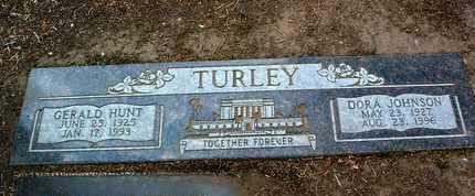 JOHNSON TURLEY, DORA - Yavapai County, Arizona   DORA JOHNSON TURLEY - Arizona Gravestone Photos