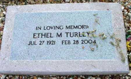 TURLEY, ETHEL M. - Yavapai County, Arizona | ETHEL M. TURLEY - Arizona Gravestone Photos