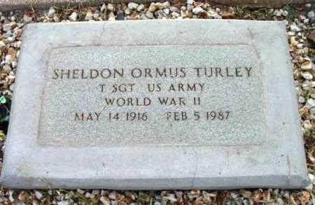 TURLEY, SHELDON ORMUS - Yavapai County, Arizona   SHELDON ORMUS TURLEY - Arizona Gravestone Photos