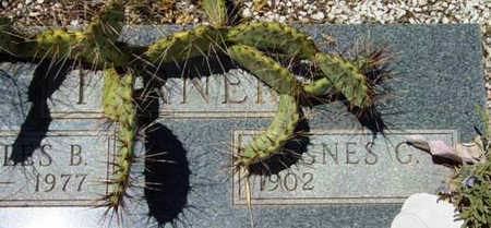TURNER, AGNES G. - Yavapai County, Arizona | AGNES G. TURNER - Arizona Gravestone Photos