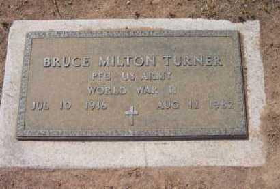 TURNER, BRUCE MILTON - Yavapai County, Arizona | BRUCE MILTON TURNER - Arizona Gravestone Photos