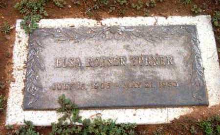 TURNER, ELSA M. - Yavapai County, Arizona | ELSA M. TURNER - Arizona Gravestone Photos
